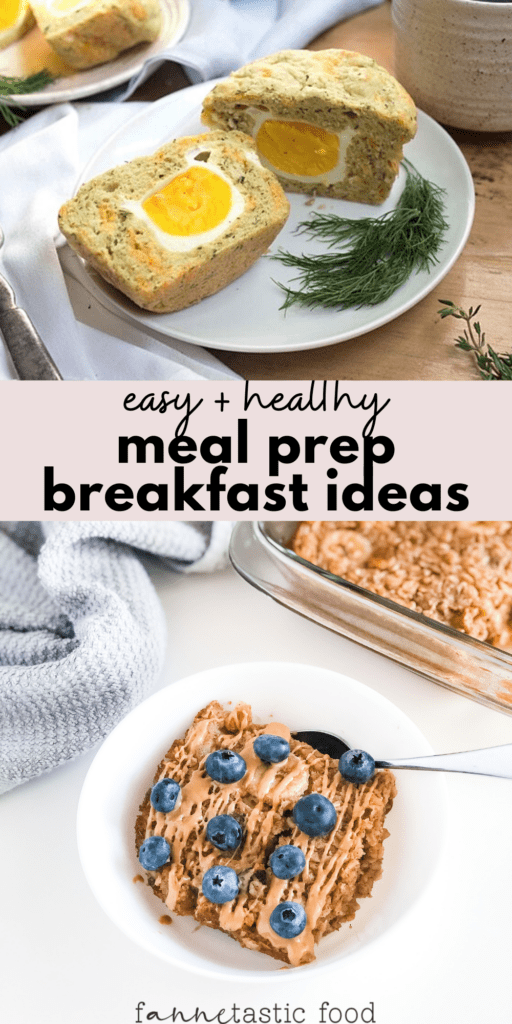 easy and healthy breakfast meal prep ideas