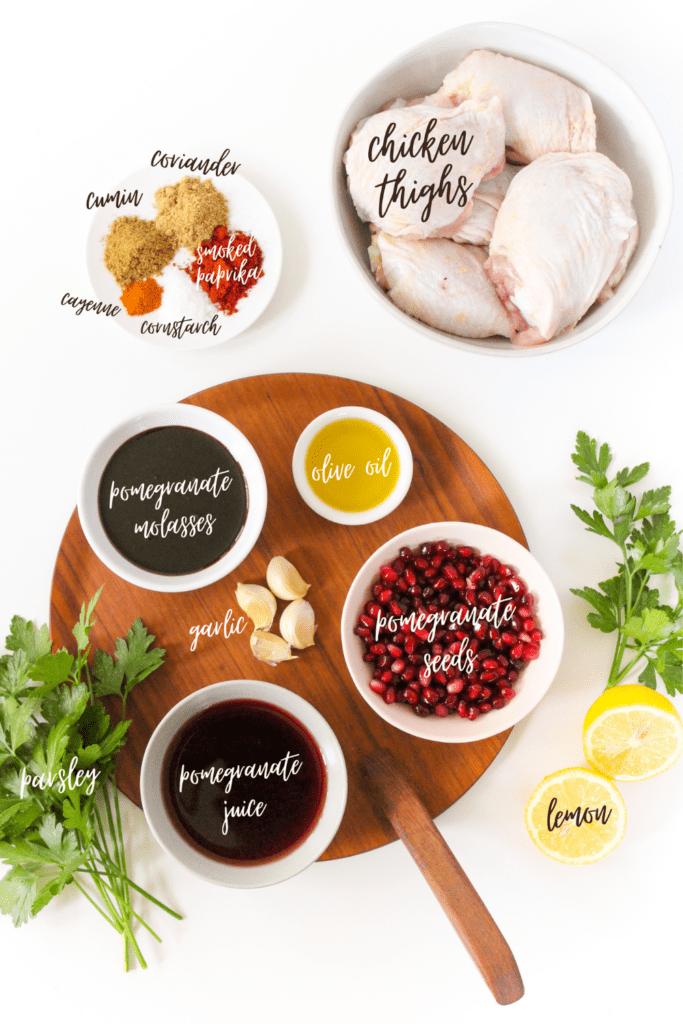 pomegranate chicken ingredients