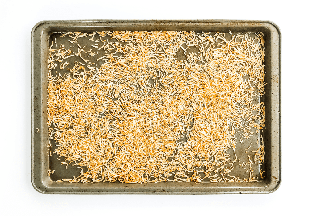 how to toast coconut on a sheet pan