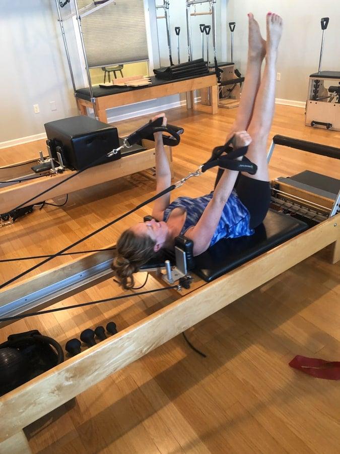 pilates reformer class at studio sewickley