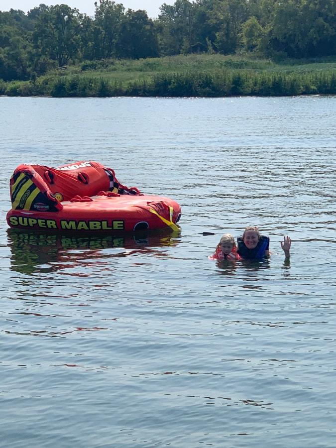 tubing at lake anna